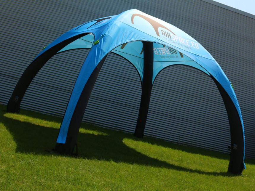 inflatable tent print 4x4m 1