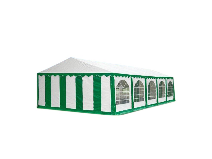Party tent Premium, 10m length, white green