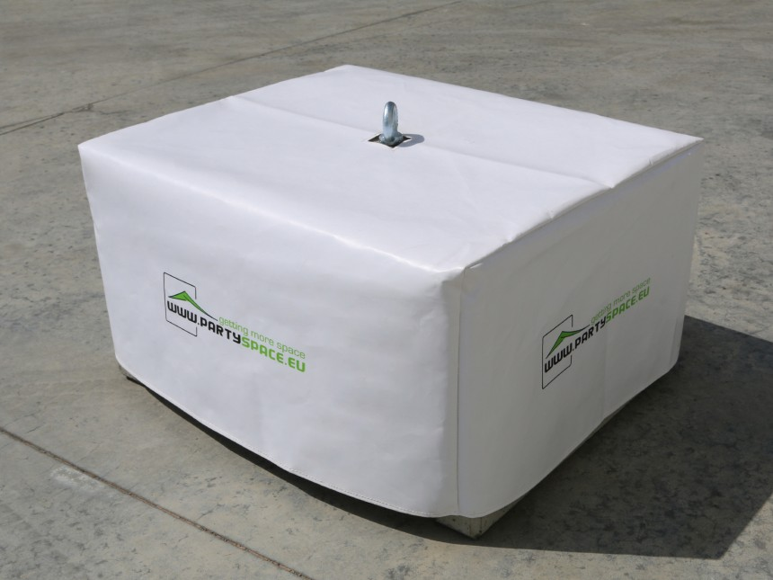 bedrukte hoes pvc voor beton gewicht 340kg partyspace. Black Bedroom Furniture Sets. Home Design Ideas