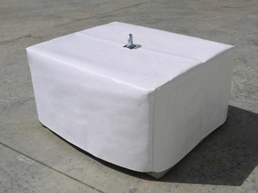 witte hoes pvc voor beton gewicht 340kg partyspace. Black Bedroom Furniture Sets. Home Design Ideas