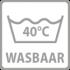 40 ¦C wasbaar