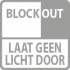 blockout niet lichtdoorlatend