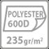 polyester 600D 235gr