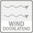 wind doorlatend