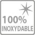 100% inoxydable