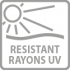 resistant rayons UV